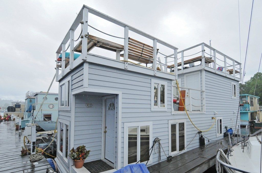 Buy Your Very Own TwoStory Lake Union Houseboat For 325K