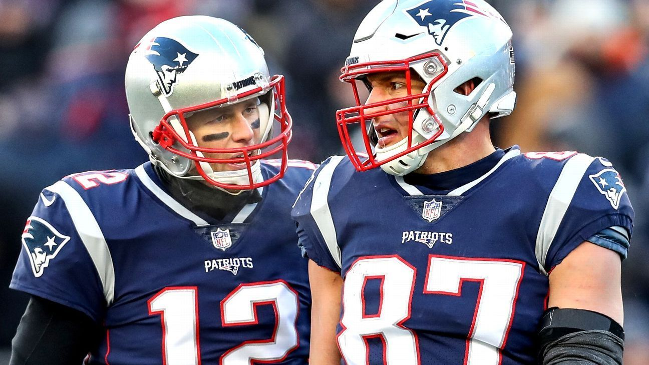 Brady won't try to lure Gronk out of retirement Patriots