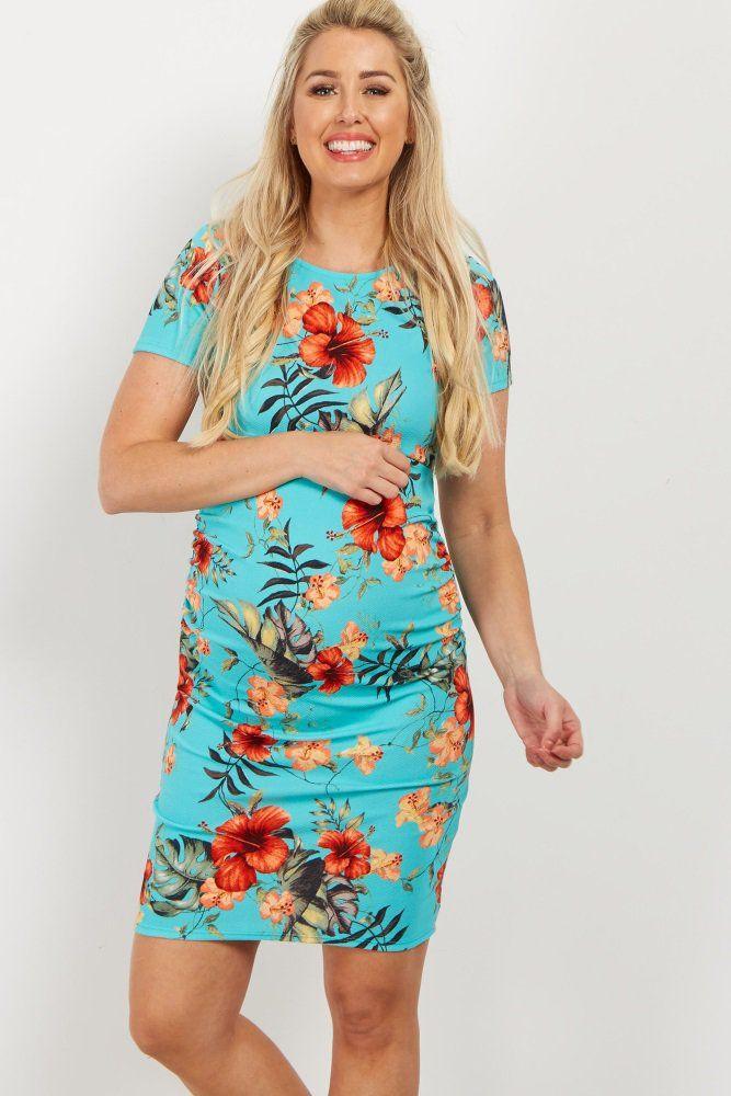 9917c2ed1533c Charcoal ribbed lettuce edge maternity dress – Artofit