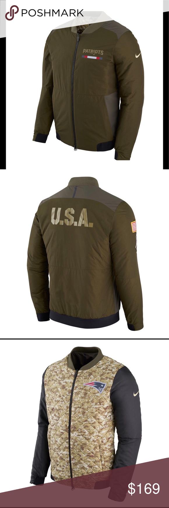 reputable site 7f49a 0368e Nike salute to service bomber jacket NWT Nike men's New ...