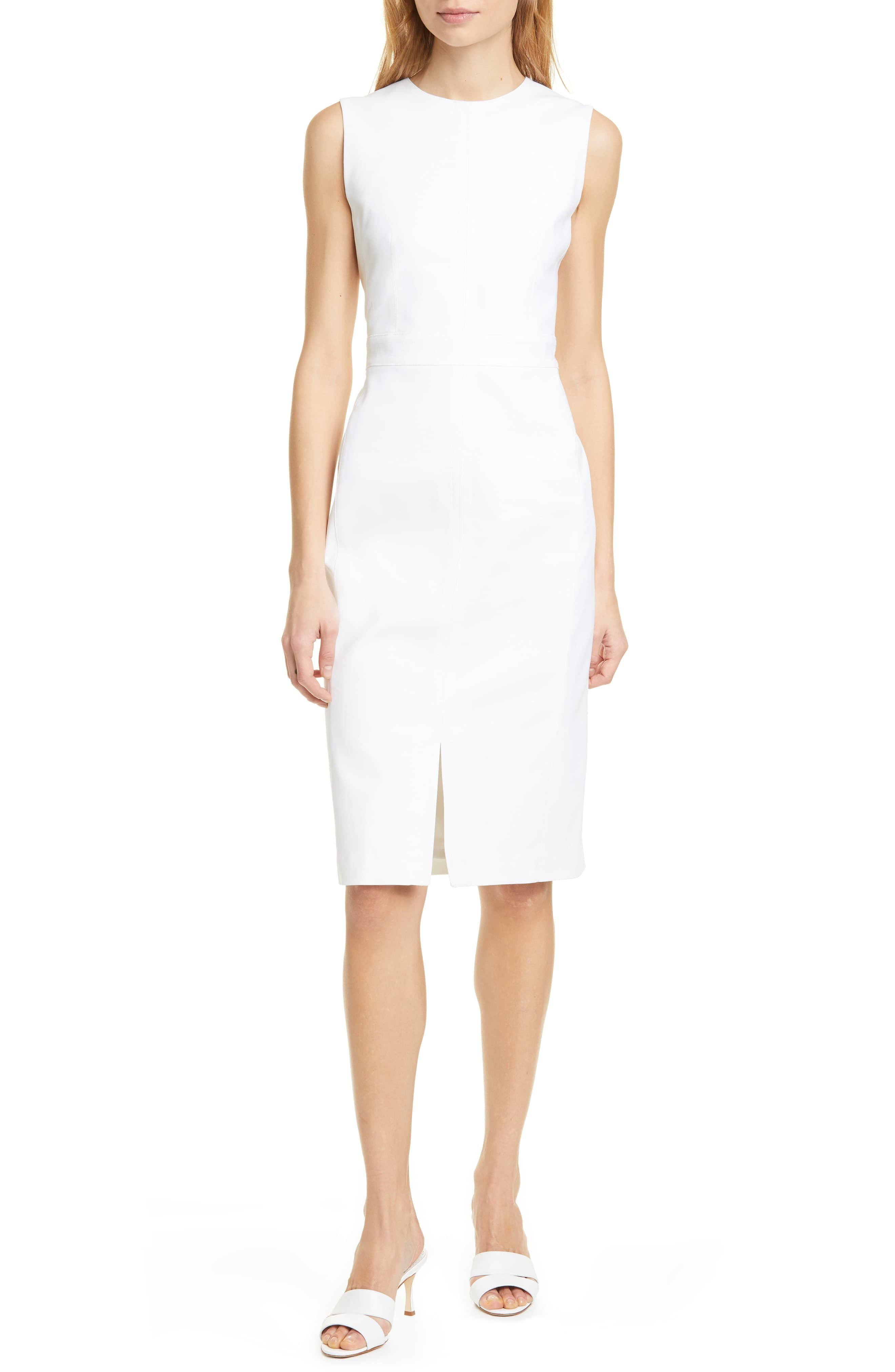Women S Judith Charles Breuer Sleeveless Sheath Dress Size 6 Ivory In 2020 Sleeveless Sheath Dress Fashion Clothes Women Sheath Dress
