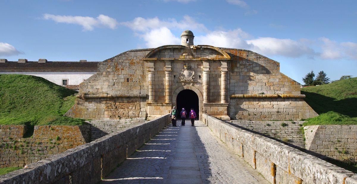 star shaped fortres in Almeida - Portugal