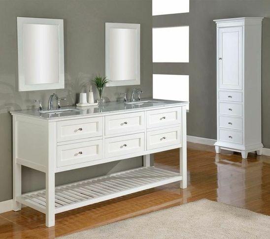 bathroom vanities and sink consoles DIY project Pinterest