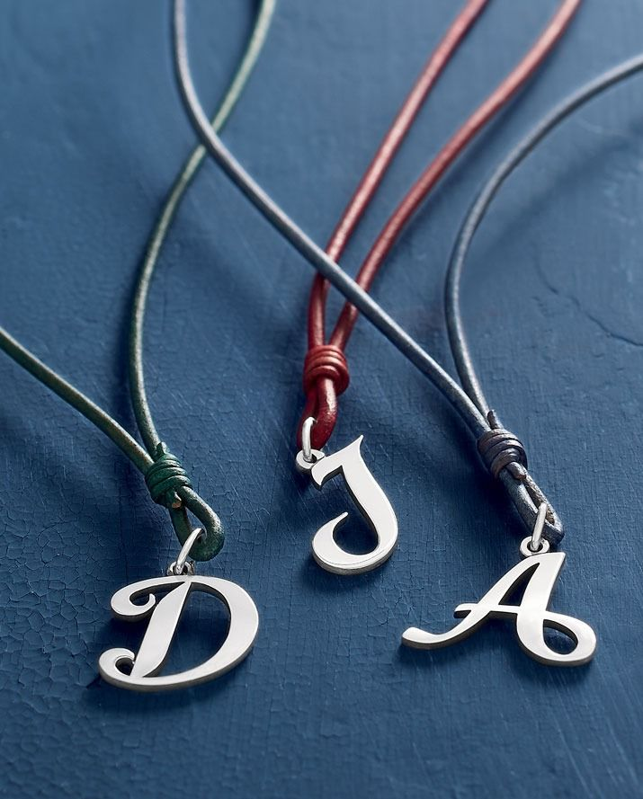 Script Initial Charm James Avery Necklace James Avery