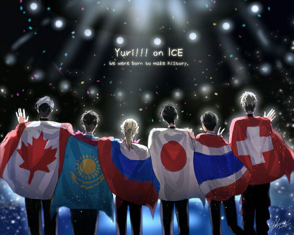Imagenes de Yuri On Ice!!!