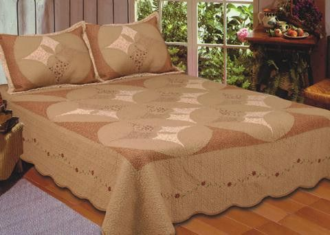 "(AHT-5628LCHQ) ""Unchained Melody"" Western Quilt Set Full/Queen"
