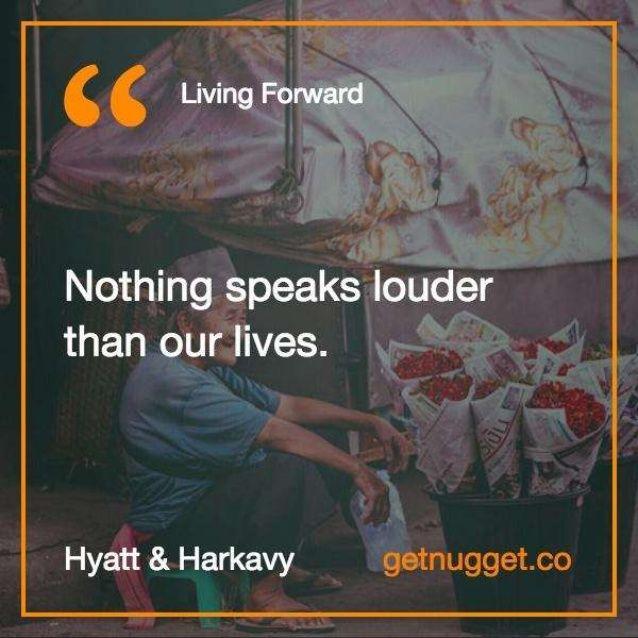 Living Forward by @MichaelHyatt and @DanielHarkavy – Top 30 nuggets