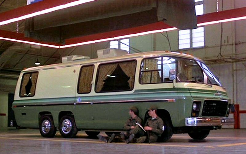 People Used To Live In Those Gmc Motorhome Tv Cars