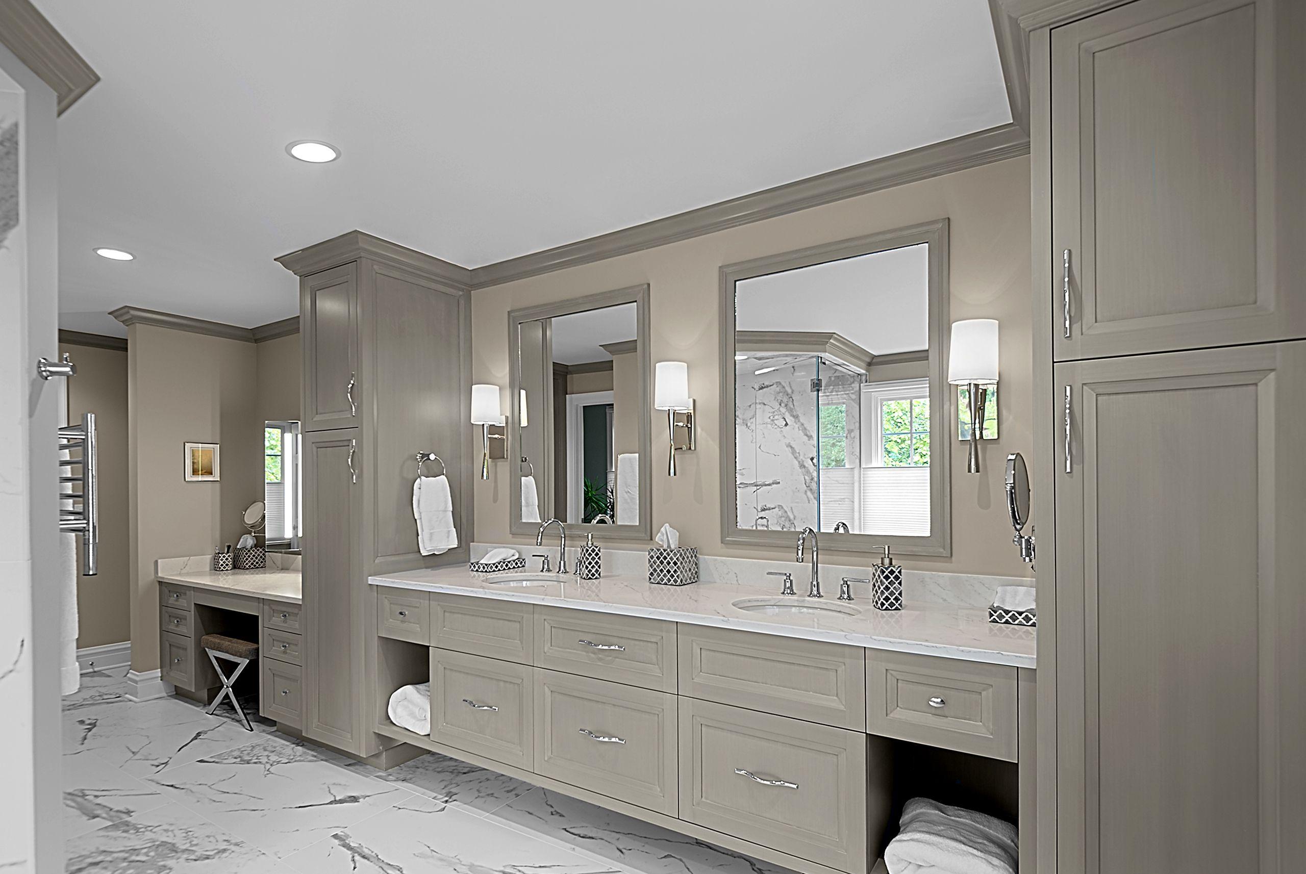 Large Custom Vanity Custom Bathroom Vanity Large Bathroom Remodel Custom Bathroom