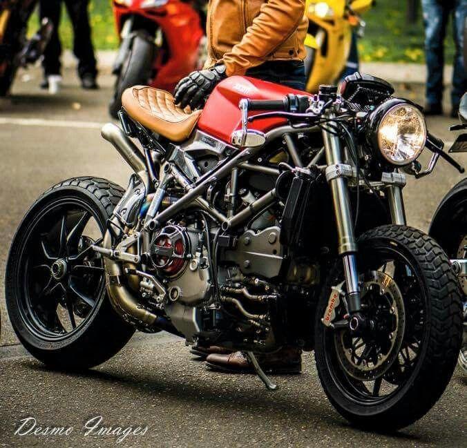 Ducati Streetfighter Custom Cafe Racer