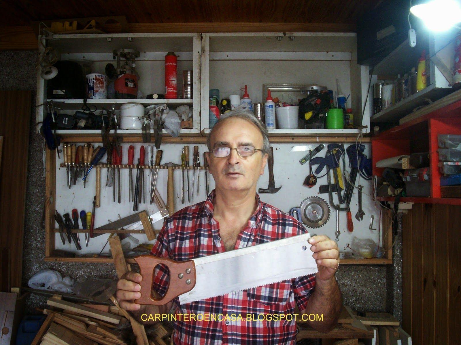 Carpintero en casa : COMO AFILAR EL SERRUCHO