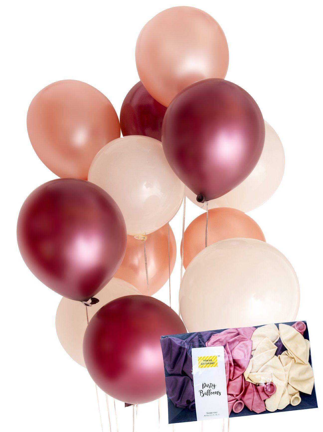 10 to 30 Balloons Metallic Latex Balloons Helium Wedding Party Baloons Ballons