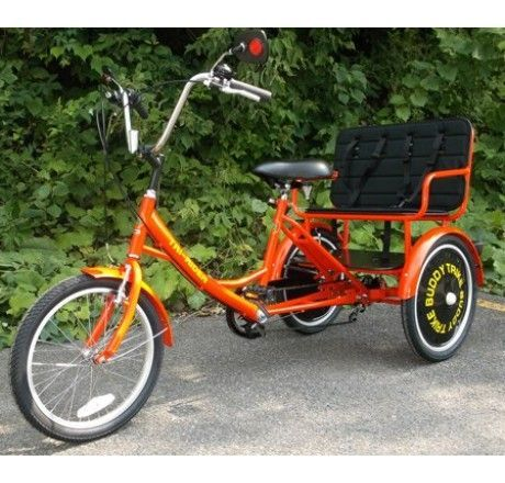 Buddy Trike 2 Passenger Tricycle Bicycles Pinterest