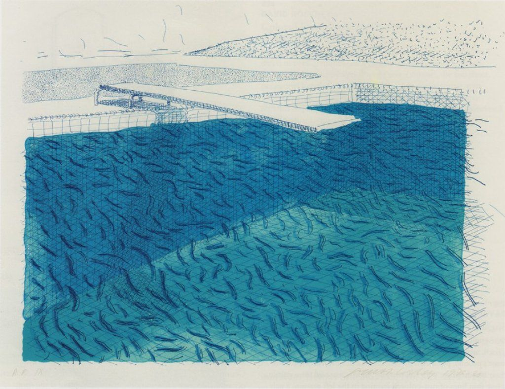 I love hockney 39 s pool paintings r t pinterest - David hockney swimming pool paintings ...