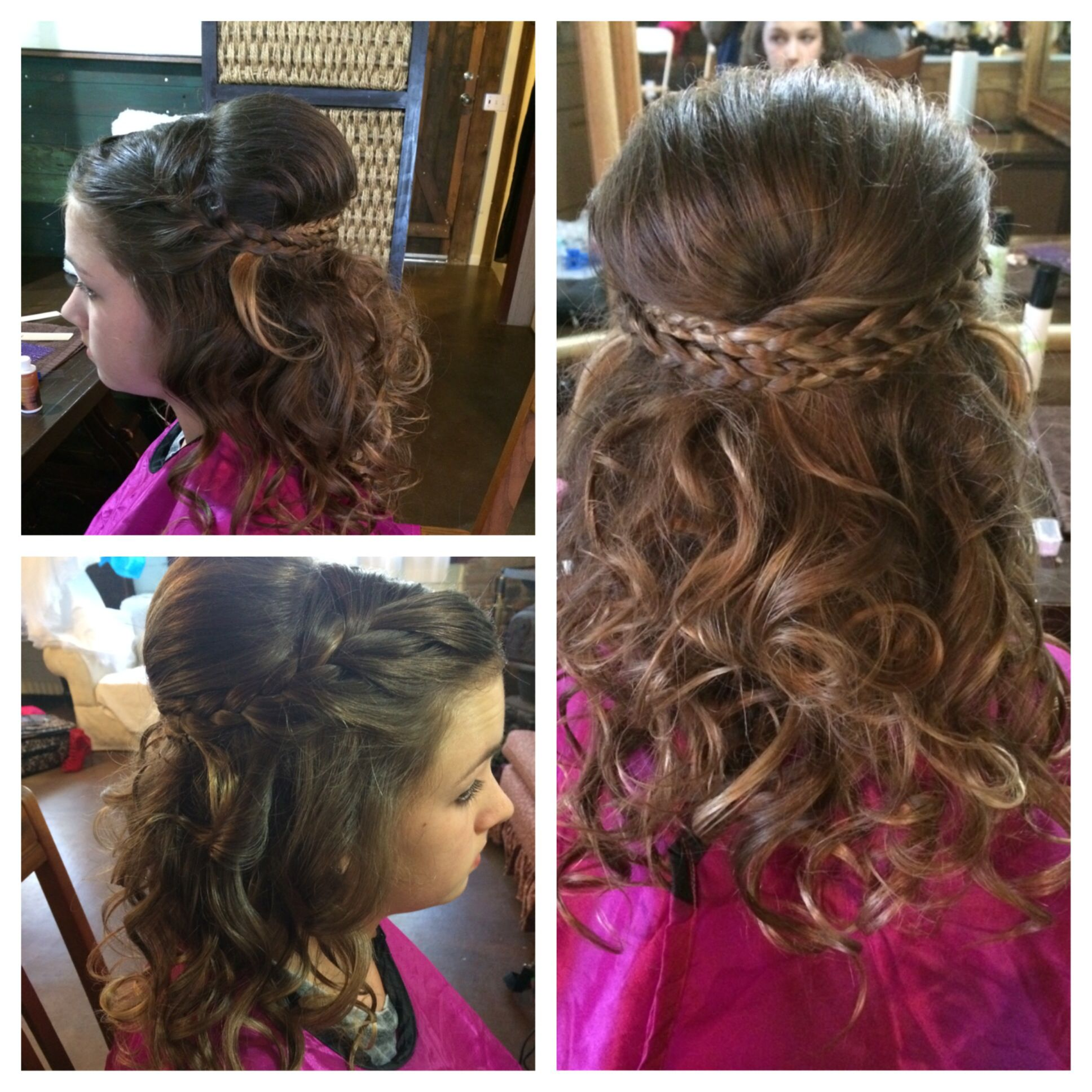 Wedding Hairstyles For Jr Bridesmaids: Junior Bridesmaid Hair. Wedding Hair. Bridesmaid. Cute
