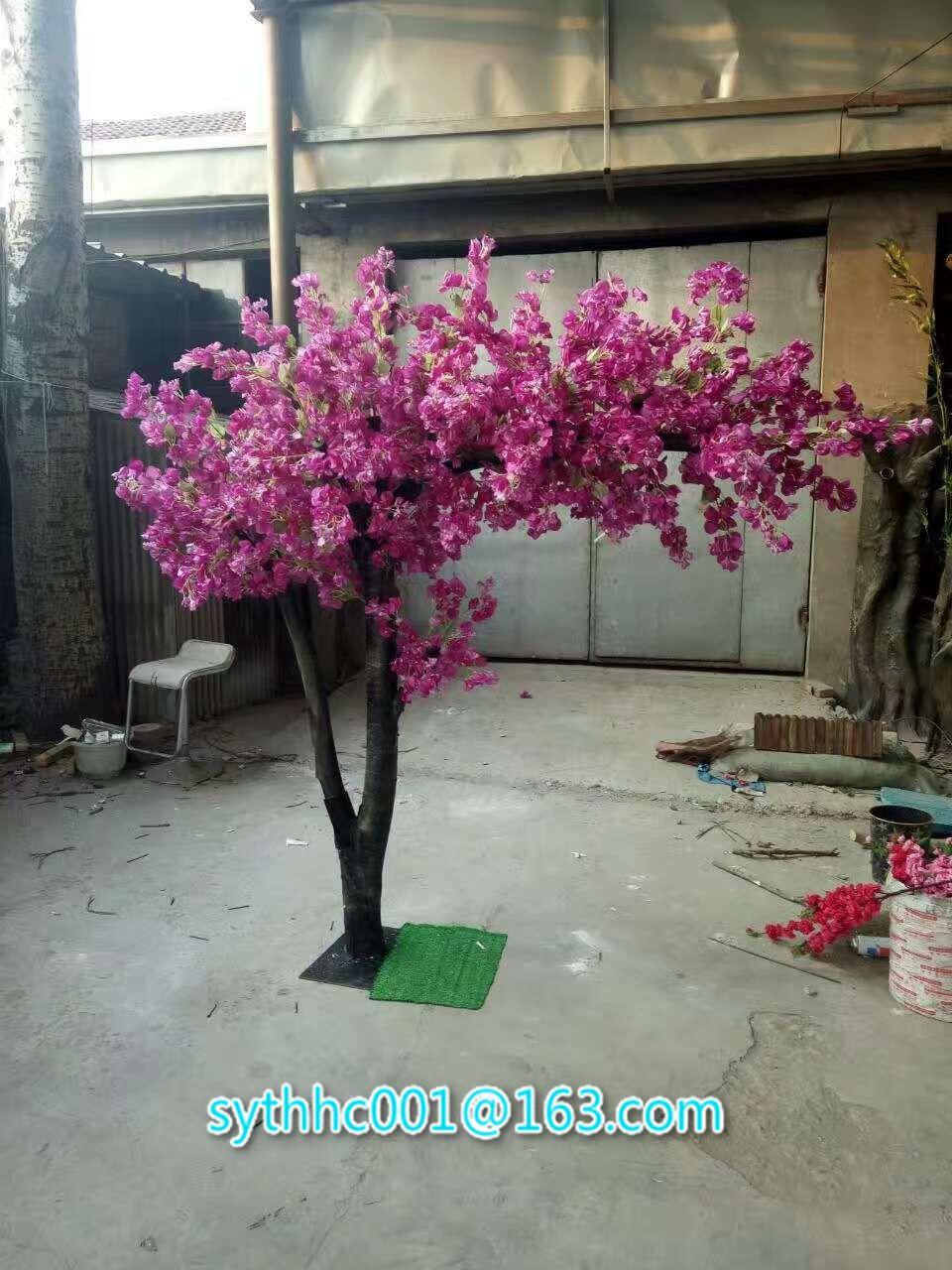 Fake Cherry Blossom Trees Shenyang Tianshun Hongcheng Trading Co Ltd Artificial Cherry Blossom Tree Blossom Tree Wedding Cherry Blossom Tree