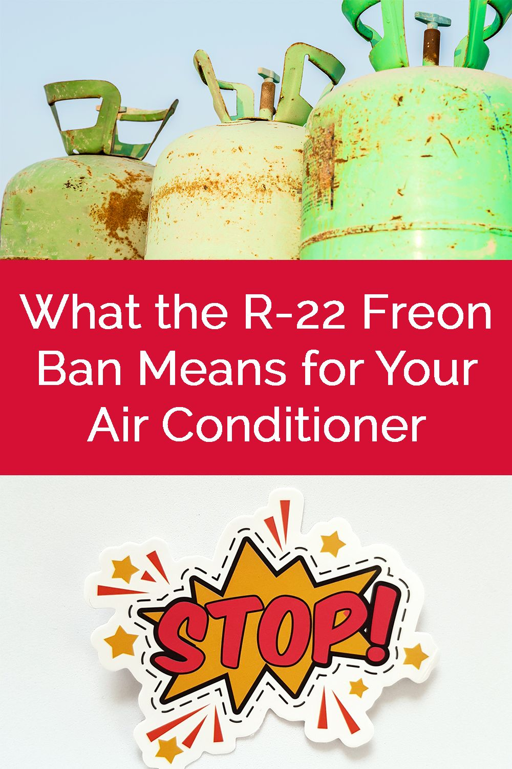 If your air conditioner uses Freon, it might be time for a