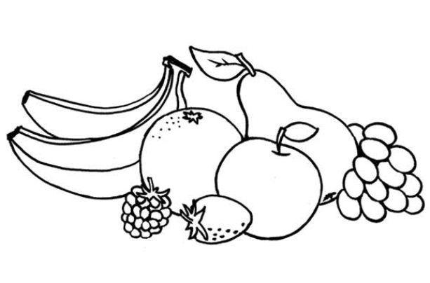 Mewarnai Gambar Buah Buahan Rain Fruit Projects To Try Crafts