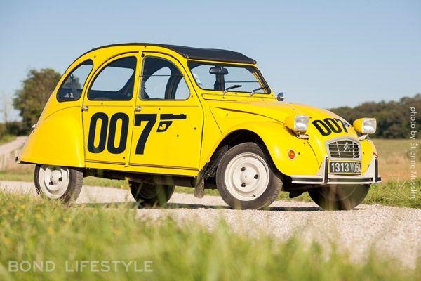 Citroen 2cv 007 Edition Photo C Etienne Musslin James Bond Citroen 2cv Toy Car