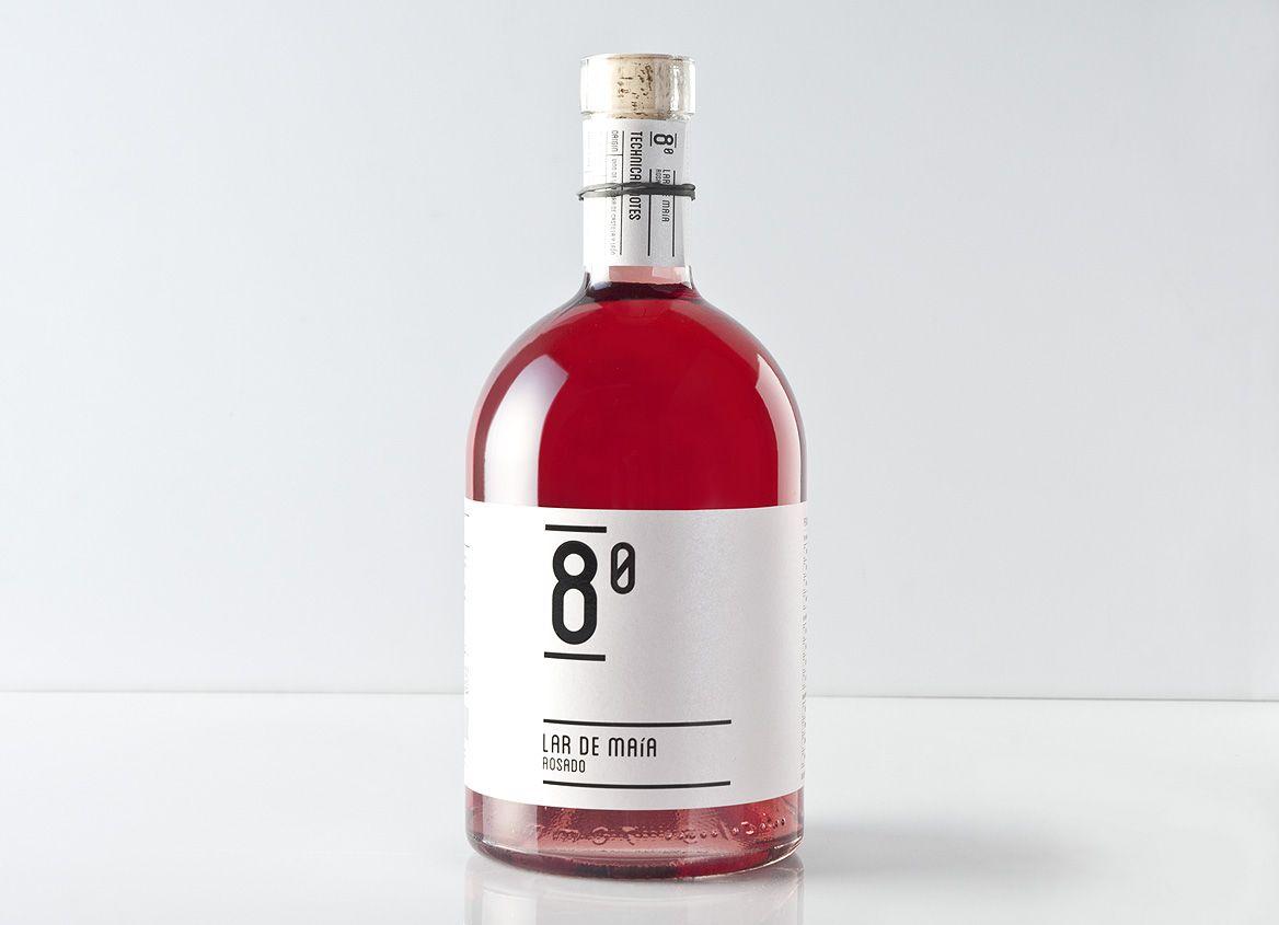 Lar De Maia Rose Wine Label Design Creative Packaging Design Wine Packaging