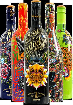 Christian Audigier designed bottles