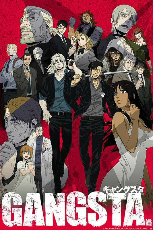 Pin by CJR Ramirez on manga (With images) Gangsta anime