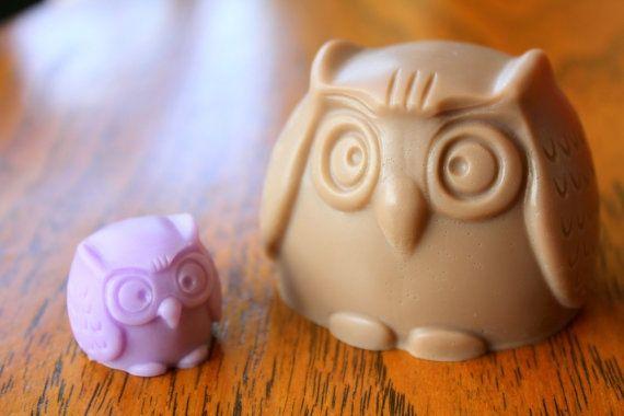 Cute Fairy Tale Woodland Mother Owl And Baby by KawaiiCosmetics, $6.00