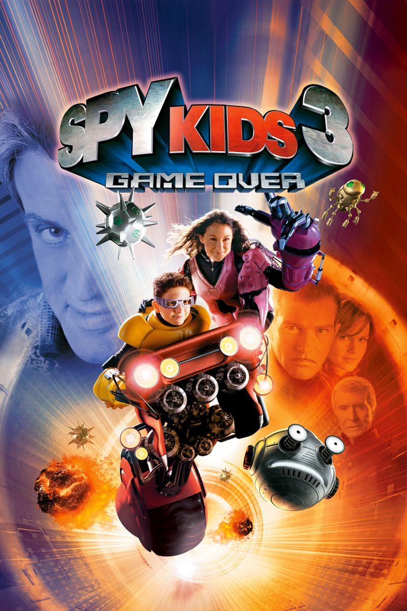Spy Kids 3 Game Over With Images Spy Kids Spy Kids 3 Spy