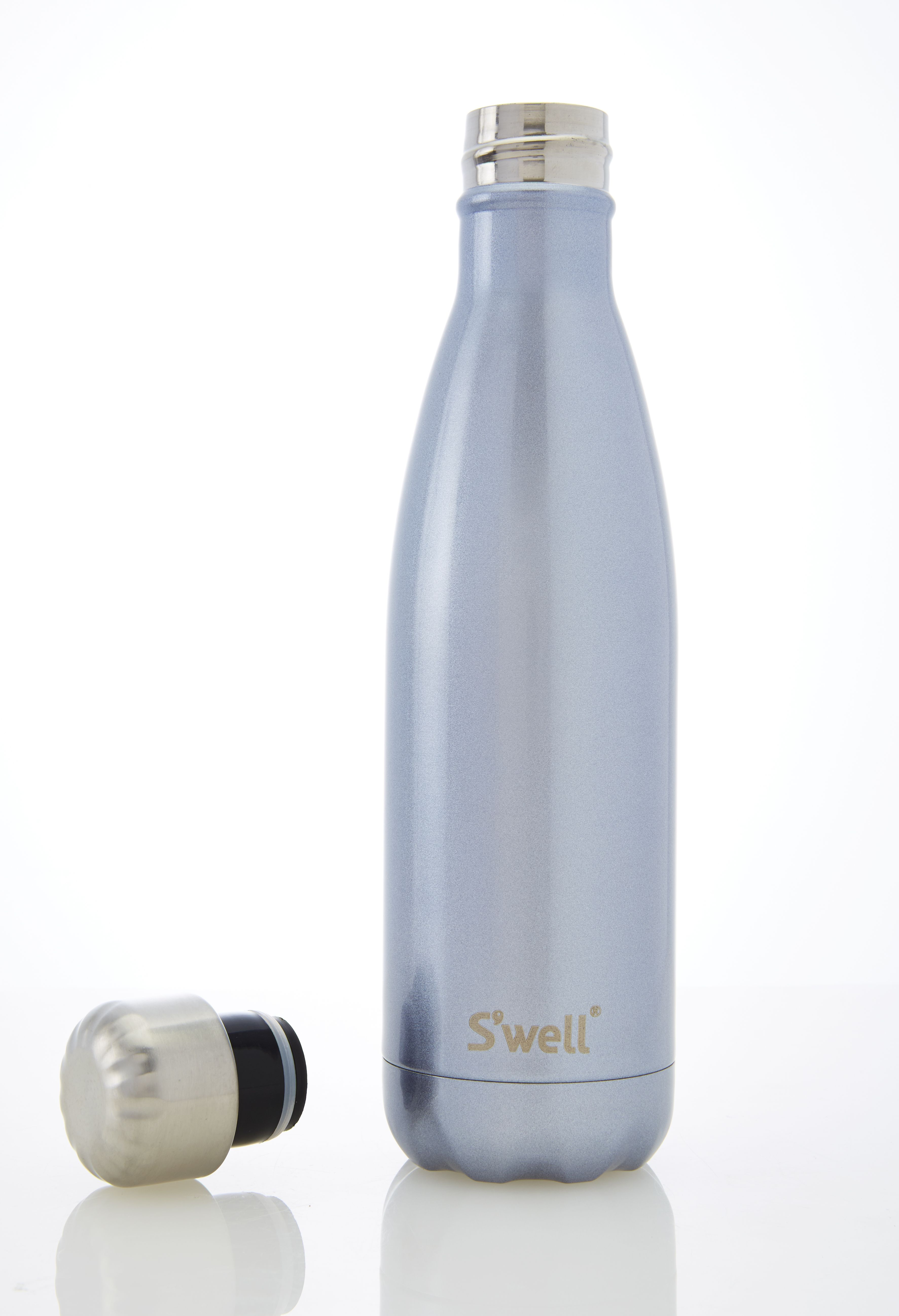 Stainless Steel Water Bottle Vacuum Double-Wall 17 oz. Capture The Blue