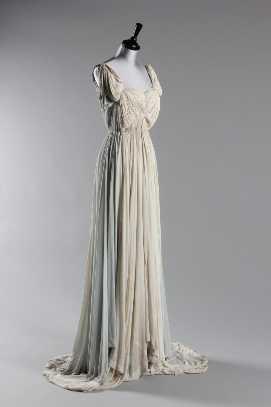 Fripperies And Fobs 1940s Evening Dress By Madame Grs Fashion