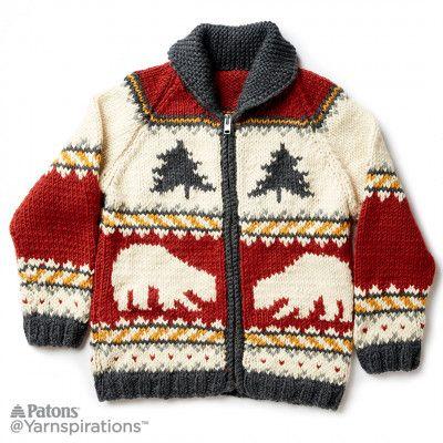 True North Knit Jacket | knitting | Pinterest | Tejido y Patrones