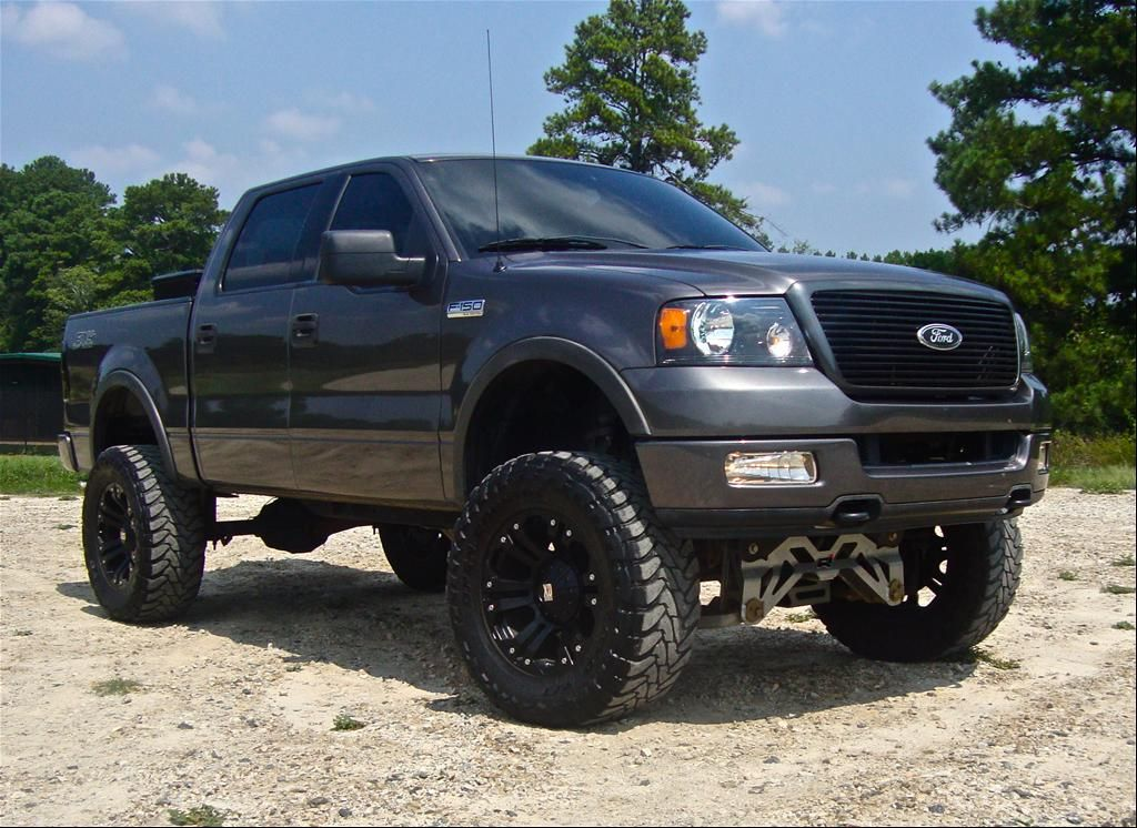Ford F 150 Lifted Ford F150 Supercrew Cab Fx4 Styleside Pickup