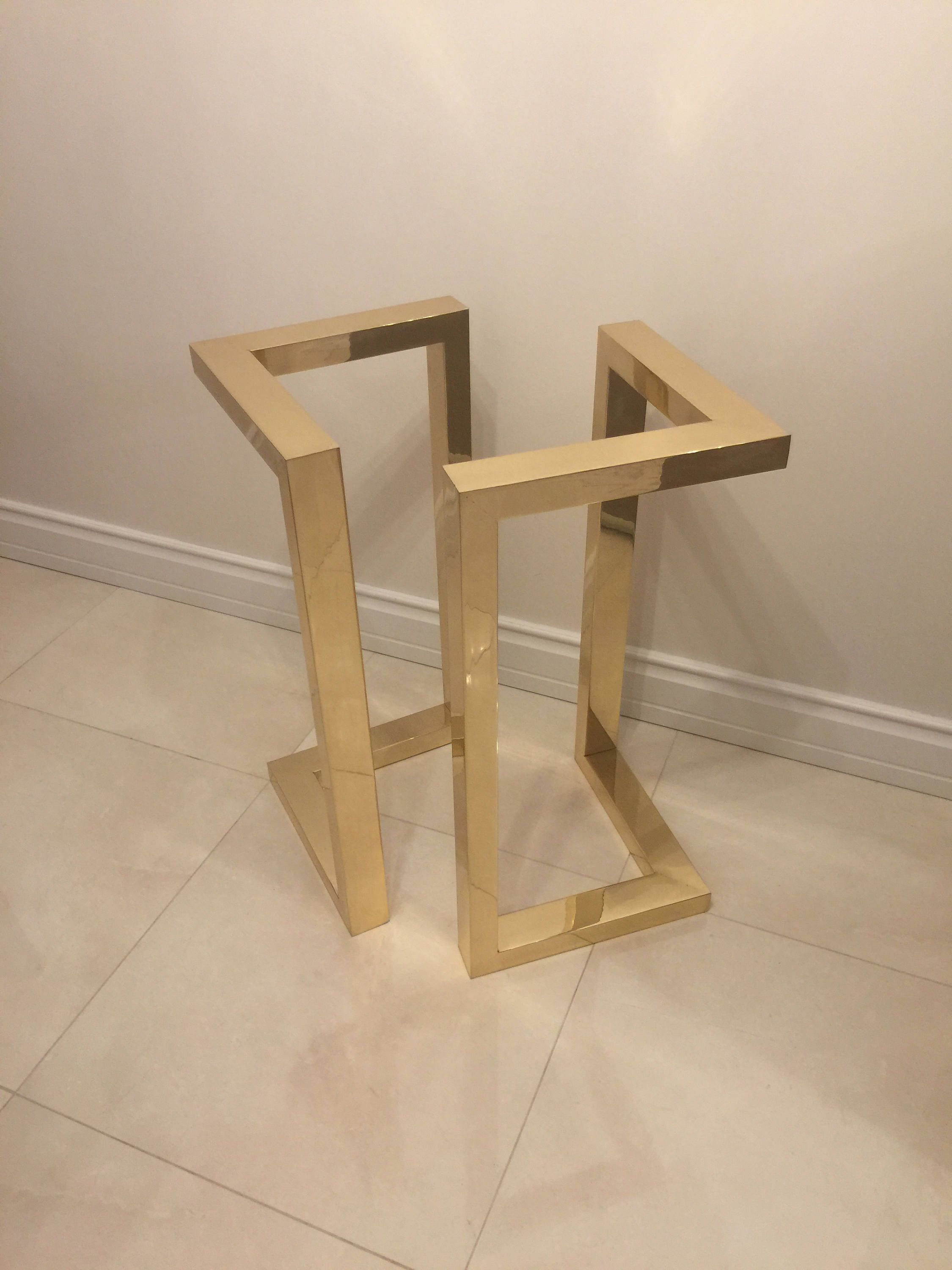 These Set Of 2 Legs Are Made Out Of Stainless Steel Tubing And Can  # Muebles Tumbing