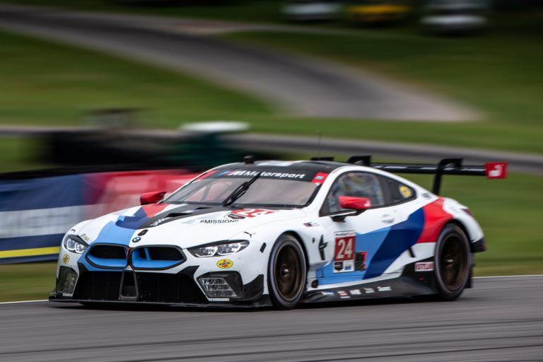 Bmw M8 Gte Finishes Seventh And Eighth At Virginia International