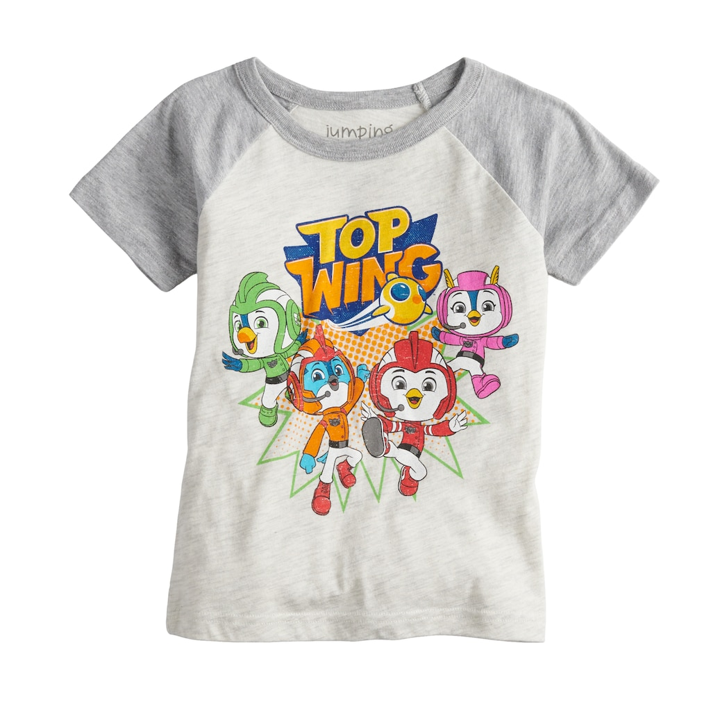 67107606 Toddler Boy Jumping Beans® Top Wing Raglan Graphic Tee | Products ...
