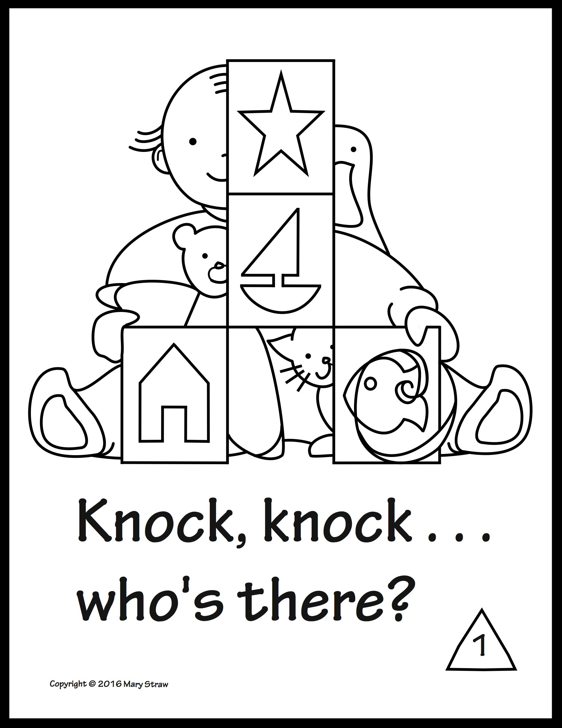 Sequencing Shapes Activity Coloring Pages