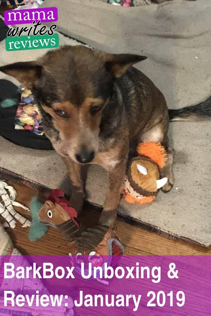 Barkbox Unboxing Review January 2019 Bark Box Fur Babies Dog Love