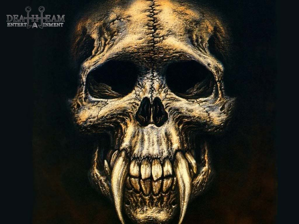 Vampire Skull Fantasy Abstract Background Wallpapers on