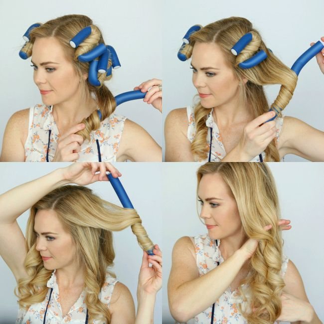 Haircare Cocktail For Heatless Curls Missy Sue Weihnachtsfrisuren Haarschnitt Ideen Haare Pflegen