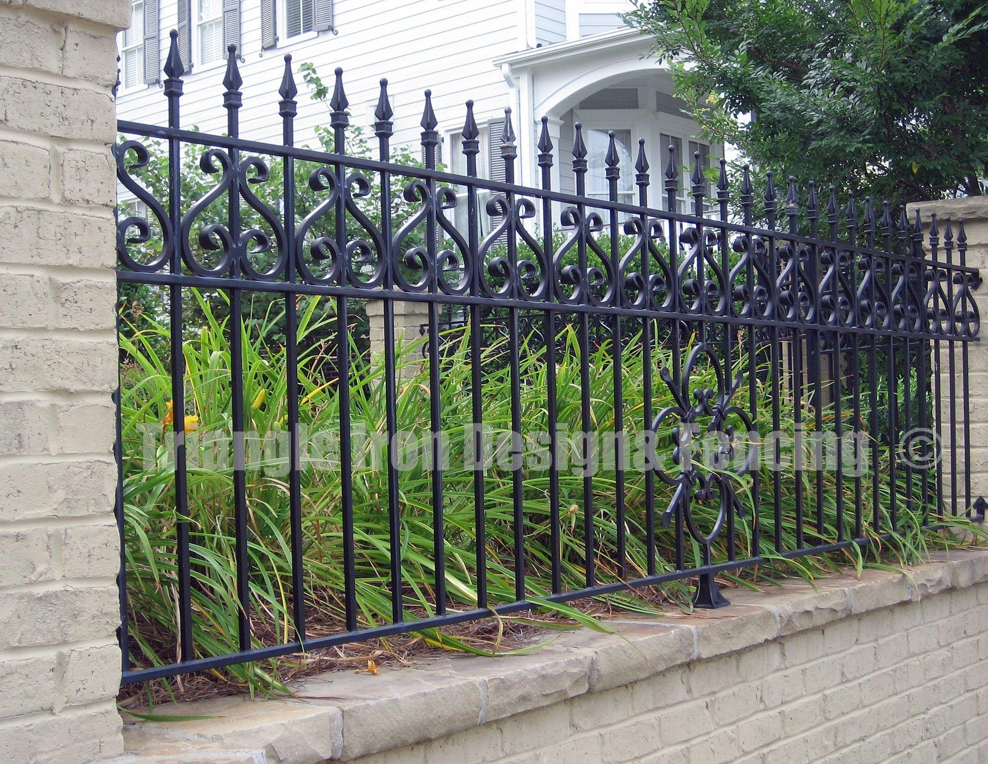 Fencing Beautiful Iron Fence #fences