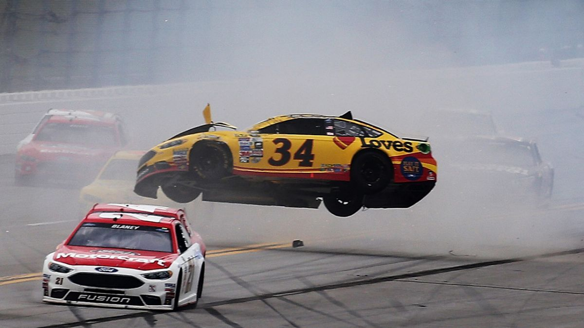 Check out the best photos from Sunday's Sprint Cup Series GEICO 500 at Talladega Superspeedway.