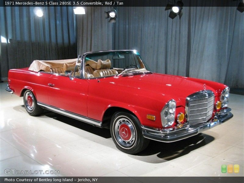 A Vintage Mercedes Convertible Butter Creme Yellow Please