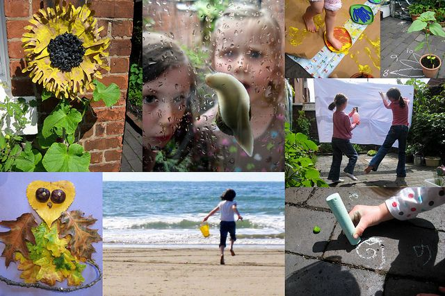 60 outdoor play ideas by www.nurturestore.co.uk, via Flickr