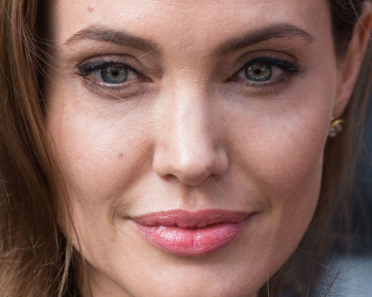 #Beauty detail: Angelina Jolie, en Londres