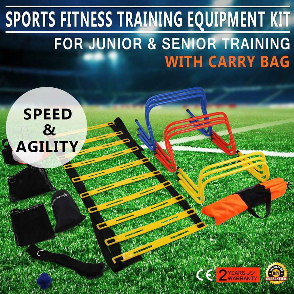 Ebay Sponsored Multi Sports Fitness Training Equipment Kit Set Balance Hurdles Speed Training Equipment Fitness Training Football Updates