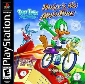 Complete Tiny Toon Adventures Plucky S Big Adventure Ps1 Game