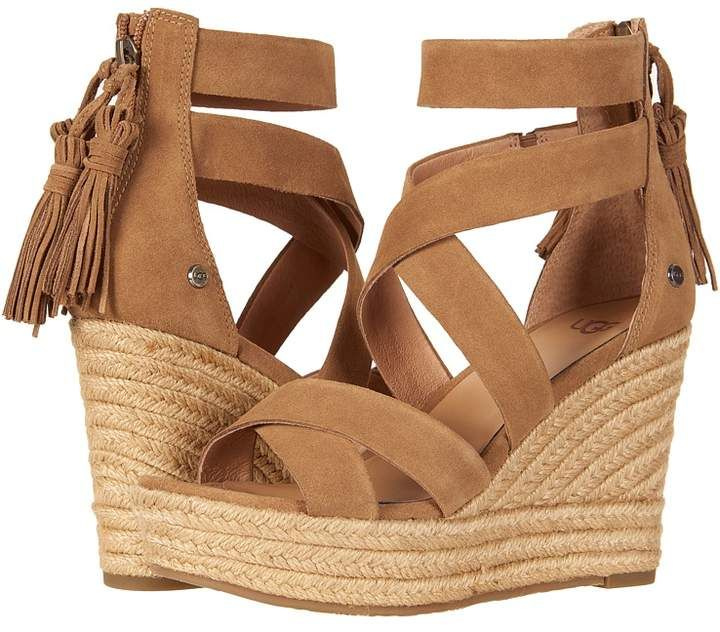 75bd34179f4 UGG Raquel Women's Wedge Shoes | Products | Womens shoes wedges, Ugg ...
