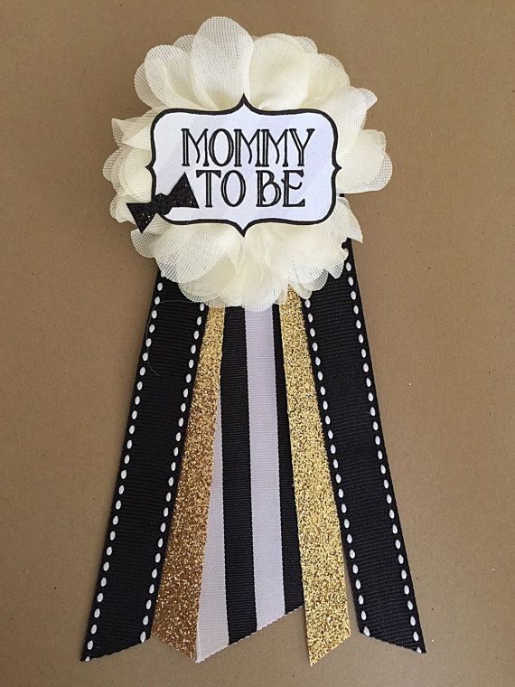 Baby Shower Baby Boy Bowtie Baby Shower Pin Mommy To Be