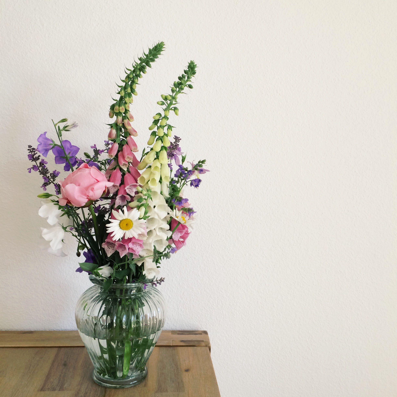 Selfpicked Natural Flower Bouquet Blumen Und Pflanzen Pinterest