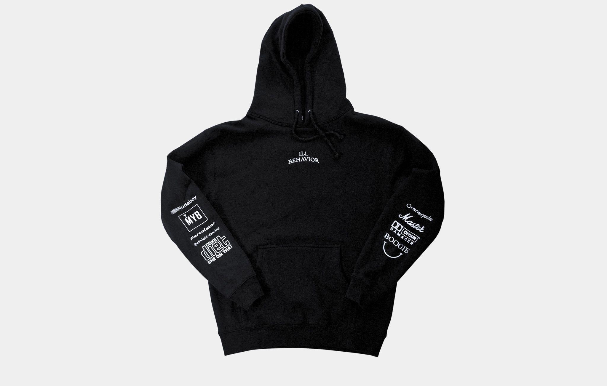 The ILL BEHAVIOR Hoodie Is A Salute To Deep And Dirty Four On The Floor  Beats.